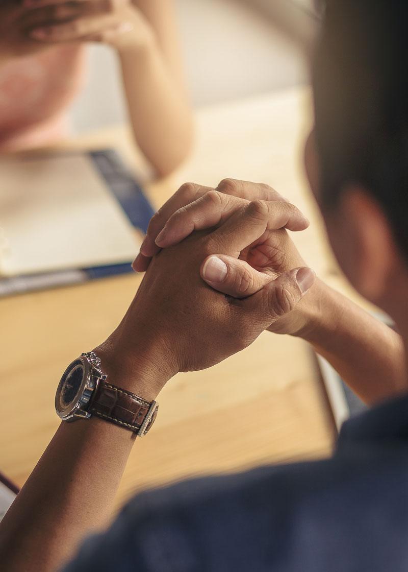 Personen im Business-Gespräch